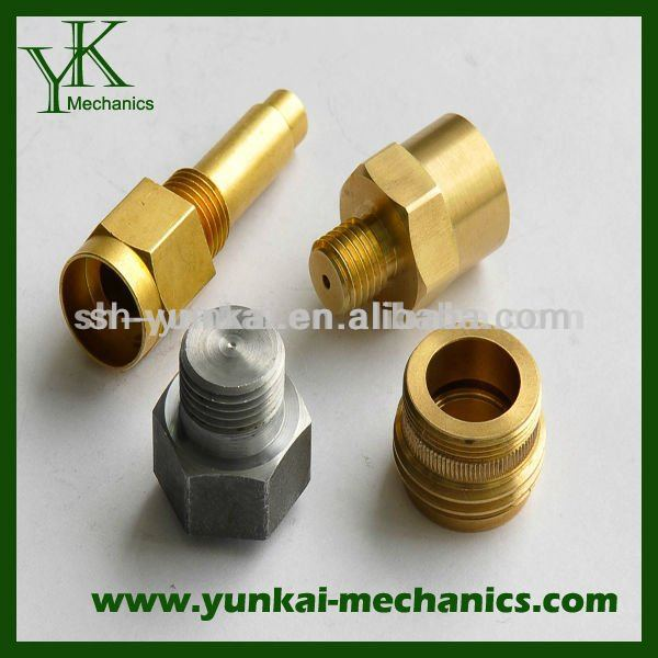 Brass, Stainless steel, customized CNC machining screw, bolt, spare part for electric motor