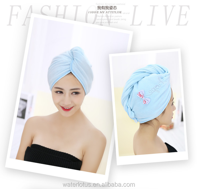 new products home travel hair dry cap women hair dry towel hea dwrap hair wrap