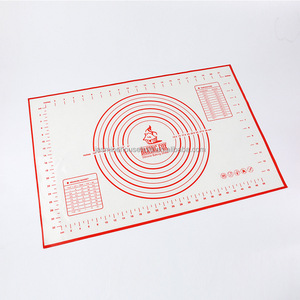 Custom Printing Silicone Baking Mat Silicone Pastry Mat With Measurement