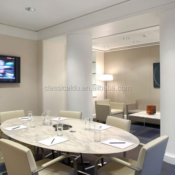 Beroemd Ronde Marmeren Eettafel Set/marmeren Blad Eettafel - Buy Product  NY75