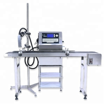 Auto Time / Date / Number / Character Inkjet Printer Bottle / Wire / Cable Coding Printing Machine