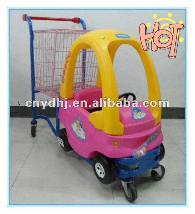 fec2b4d58 أطفال العربة عربة تسوق مع لعبة مضحكة مقاعد السيارات للأطفال-عربات يد ...