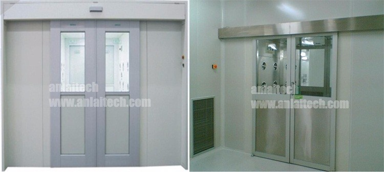 Automatic Blow Air Shower With Uv Lamp For Class 10000 Clean Room