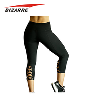 Classics fitness clothing with mesh workout leggings/yoga pant