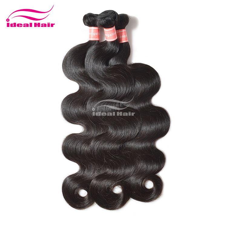 High quality body wave new style crochet braids with human hair mongolian,cheap mongolian body wave hair