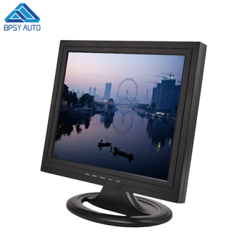 Square 4:3 LCD Monitor with TV Port 17 Inch HDMIED Input LCD TV Monitor