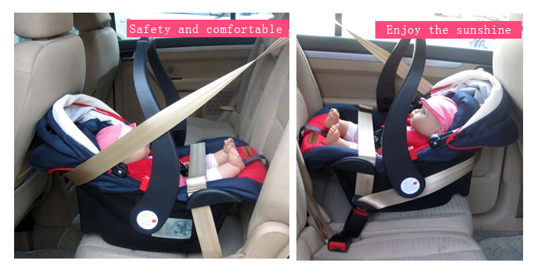 3-point Harness,Safety And Soft Baby Car Seat New Design Isofix With