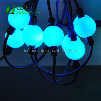 Dmx Rgb Pixel Festoon Light Programmable Led String Lights 12 Volt Color Changing