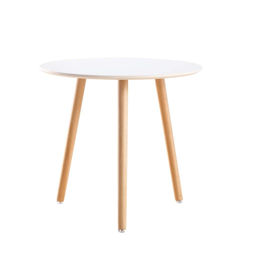 NUBAO Coffee Table Simple Modern Small Table A Few Round Low Table Mobile Small Coffee Table Dining Table Casual Corner A Few Coffee Tables (Size : L)
