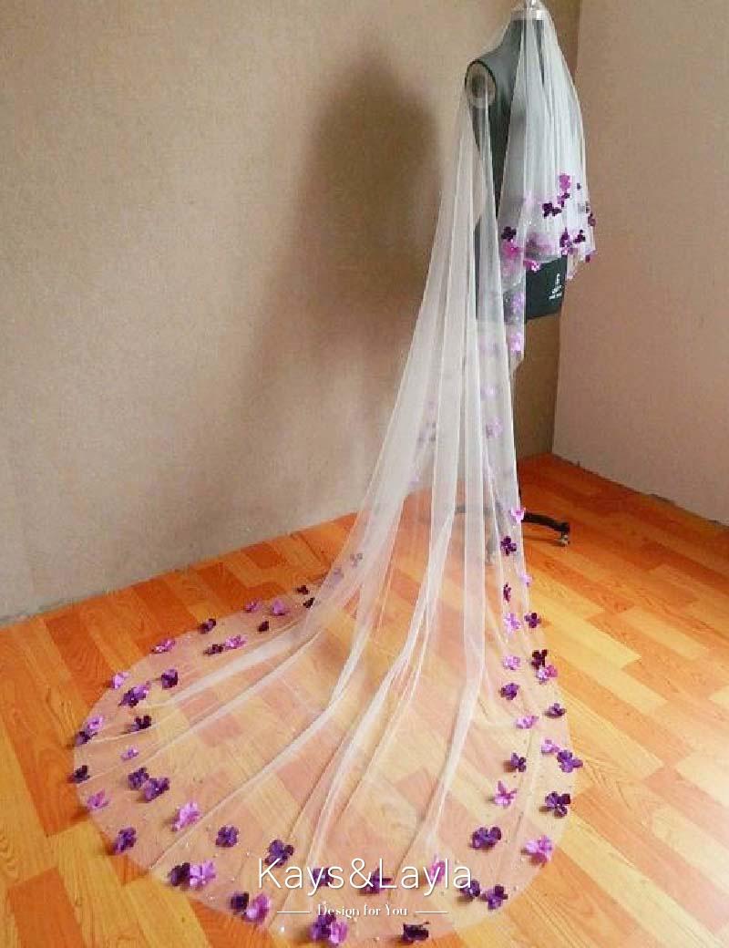 Bridal Veil Annual Flower Rustic Wedding Crown