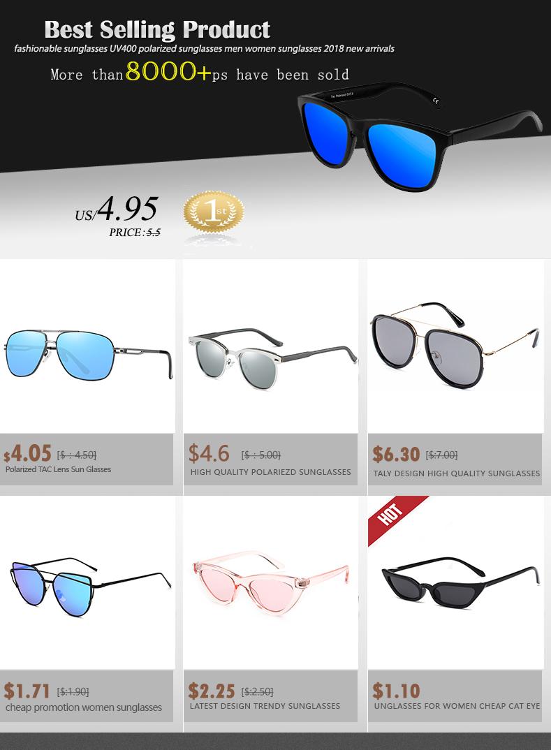 2dd70ef0086 Hot-sale products. Company Information. fashionable sunglasses UV400  polarized sunglasses men women sunglasses 2018 ...