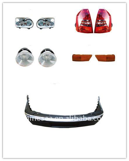 Body parts light, bumper,frame for Chrysler 300C