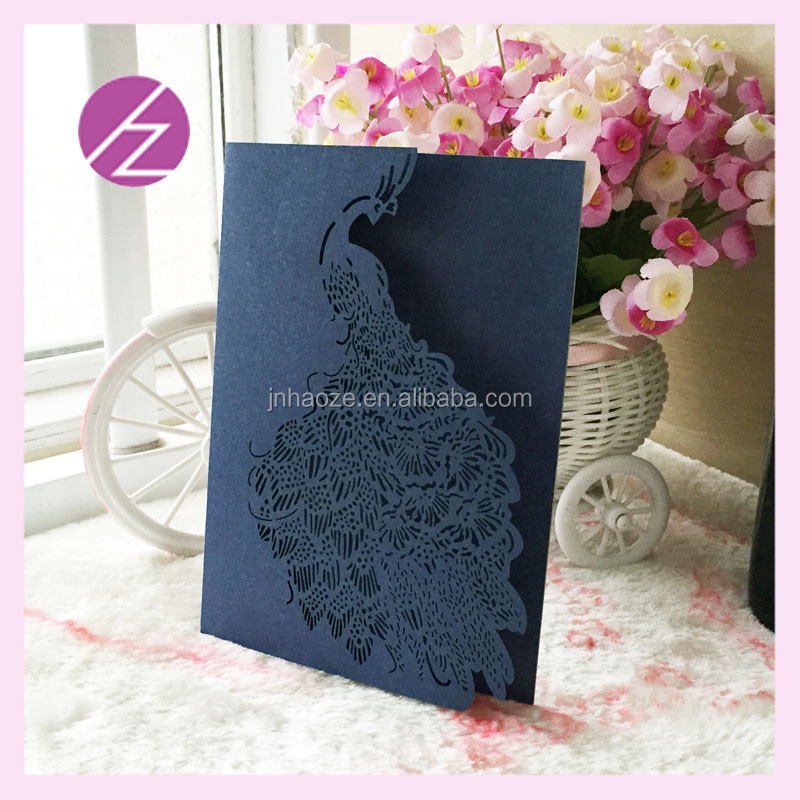 Custom Chinese Wedding Invitation Card 2016 In China Factory ...