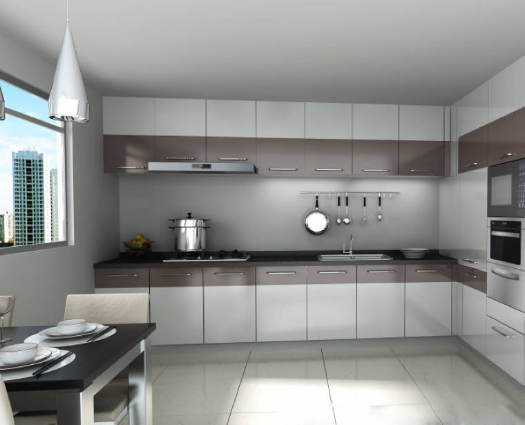 New model kitchen cabinet high gloss lacquer spray for for New model kitchen