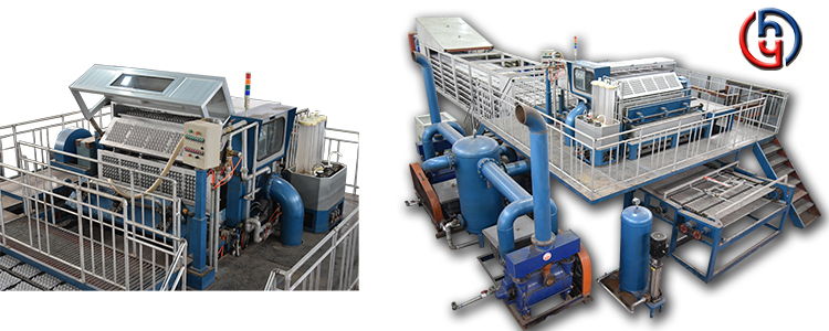 YIHAO automatico dei rifiuti di carta vassoio di uovo che fa la macchina/uovo macchina vassoio