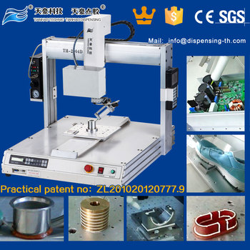 TianHao 4 Axis Robot For Glue,Adhesive,Liquid,Silicone