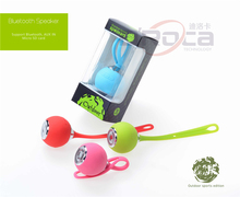 BS612 outdoor sport Wireless Speaker,Mini Portable Wireless silicon round ball speaker