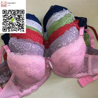 best stock sexy lace lady bra and panty set woman brassiere set Middle East
