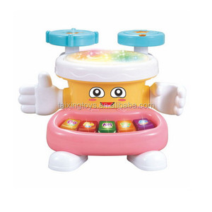 Kids Musical Toys Educational Space Hand Touch Drum Electronic Organ