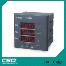 PZ652U-9X4 Three Phase Digital Display Voltmeter