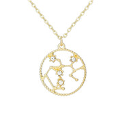 New Top Sale Corrosion Model Zodiac Necklace for wholesaler