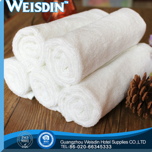 gift Guangzhou 100% cotton absorbent terry toweling bed sheet