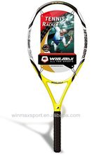 Winmax hott selling HITGEAR 820 soft tennis racket 2 colors,300g carbon fiber tennis racket