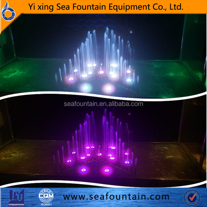 Garden fountain parts portable waterfall fountain control system