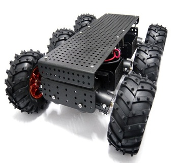 6WD Wild Thumper Mobile Search and Rescue Robot Car Chassis