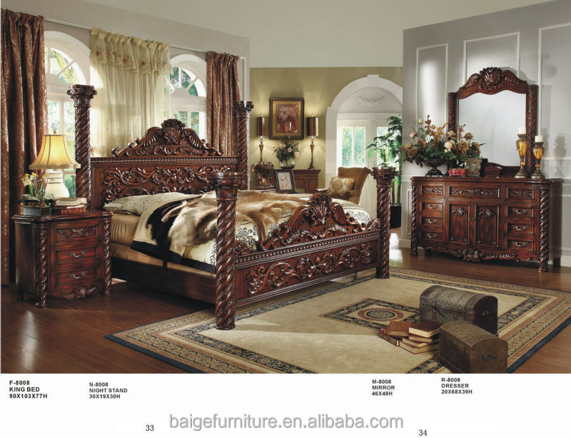 French Country Bedroom Furniture Sets/adult Bedroom Sets Antique ...