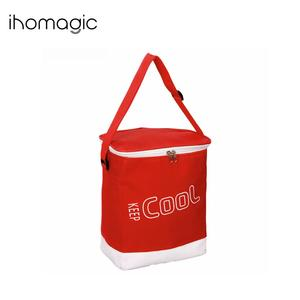 LFGB Passed Promotional Custom Small 600D Polyester Portable Outdoor Camping Fitness Thermal Insulated Cooler Lunch Bags