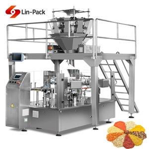 high quality industrial doy pack filling sealing machine for granules