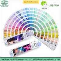 Pantone color guide GP1601N Formula Guide Coated & Uncoated color chart for printing