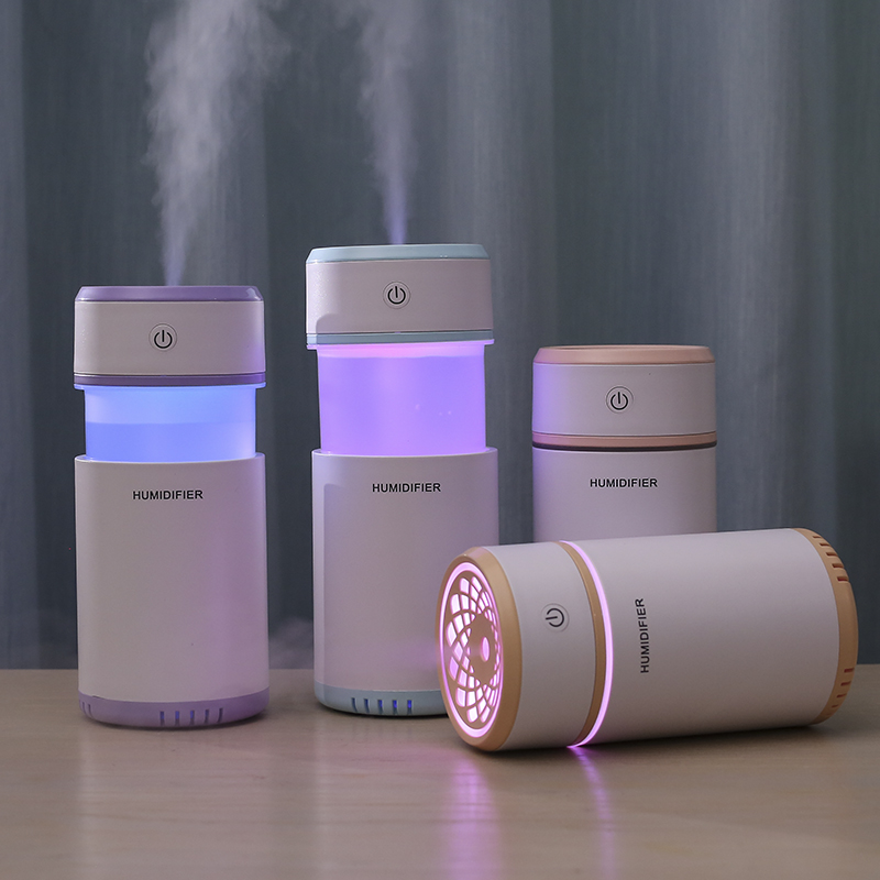 Hot Sale Cool Colorful Light USB Mini Telescope <strong>Portable</strong> <strong>Humidifier</strong> /Arome Diffuser For Travel
