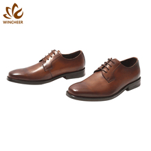 China supply good quality business comfortable italian mens genuine leather shoes