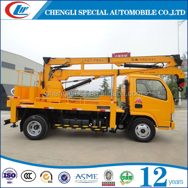 made in China right hand export to Gimbia small high altitude operation truck
