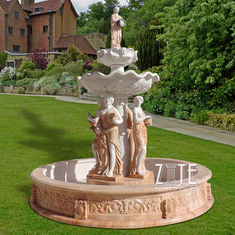garden marble water fountains garden marble water fountains suppliers and manufacturers at alibabacom