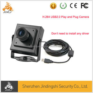 HD USB double stream H.264 MJPEG Mini camera H.264 and MJPEG output with 3.6mm lens