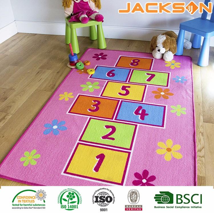 Hopscotch Kids Floor Carpet Rug