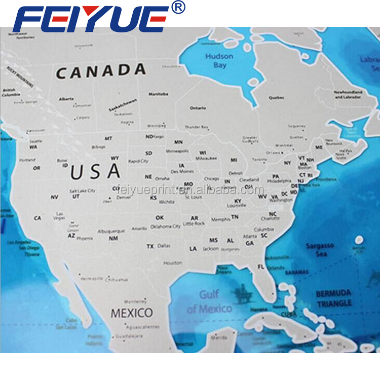 Deluxe scratch map deluxe scratch map suppliers and manufacturers deluxe scratch map deluxe scratch map suppliers and manufacturers at alibaba gumiabroncs Images