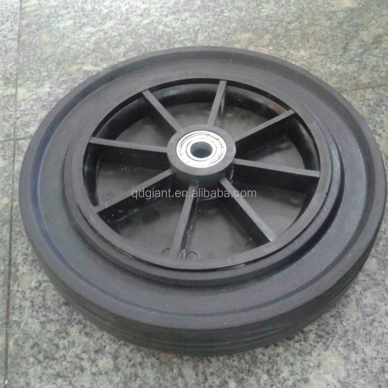 Solid rubber power wheel 12Inch (we are factory )