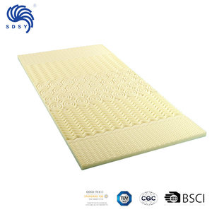 "5-Zone Breathable 1.5"" Thick Massage Memory Foam Mattress Topper"