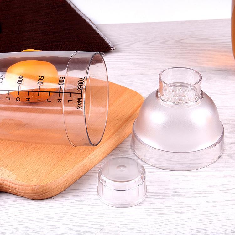 Classic Barware Modern Premium Plastic Cocktail Shaker Plastic