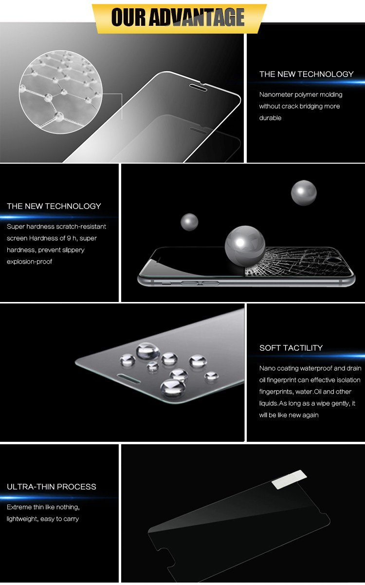 2016 Newest 3D Curved Tempered Glass Full Cover Screen Protector For Samsung Galaxy S6 Edge Tempered Glass