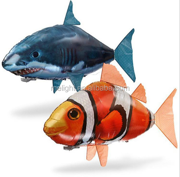 Air swming fish inflatable shark clown fish fly fish wedding birthday place inflatable toy ball