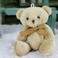 Top selling valentine gift stuffed teddy bear bouquet wholesale cute valentine mini plush bear