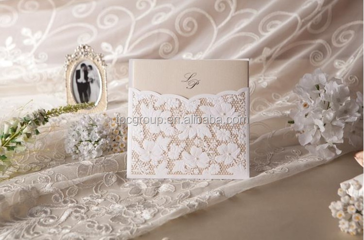 Lace Wedding Invitations, Lace Wedding Invitations Suppliers and ...