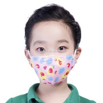Smog Air Mask 3d Face Buy Mask printed Printed N95 anti - Children Mask Pm2 Anti Reusable Dust Pollution Black 5 Product