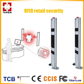 Eas Uhf Rfid Gate Reader For Retail Store Security System - Buy Rfid Retail  Store Security,Uhf Rfid Gate Reader,Eas Rfid System Product on Alibaba com