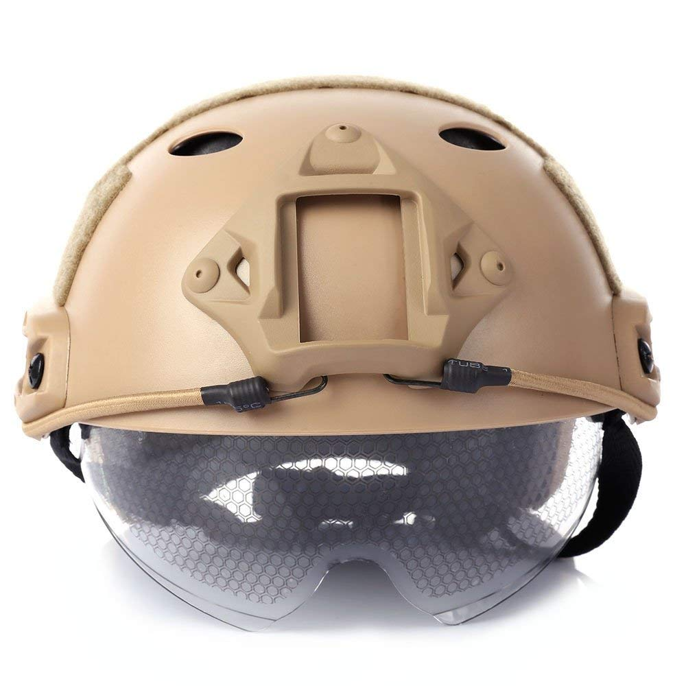Anti-collision Protection Climbing Helmets Tactical Helmet CS Air Gun Paintball Game Suitable for kite surfing, cycling, driving, airsoft, hunting,